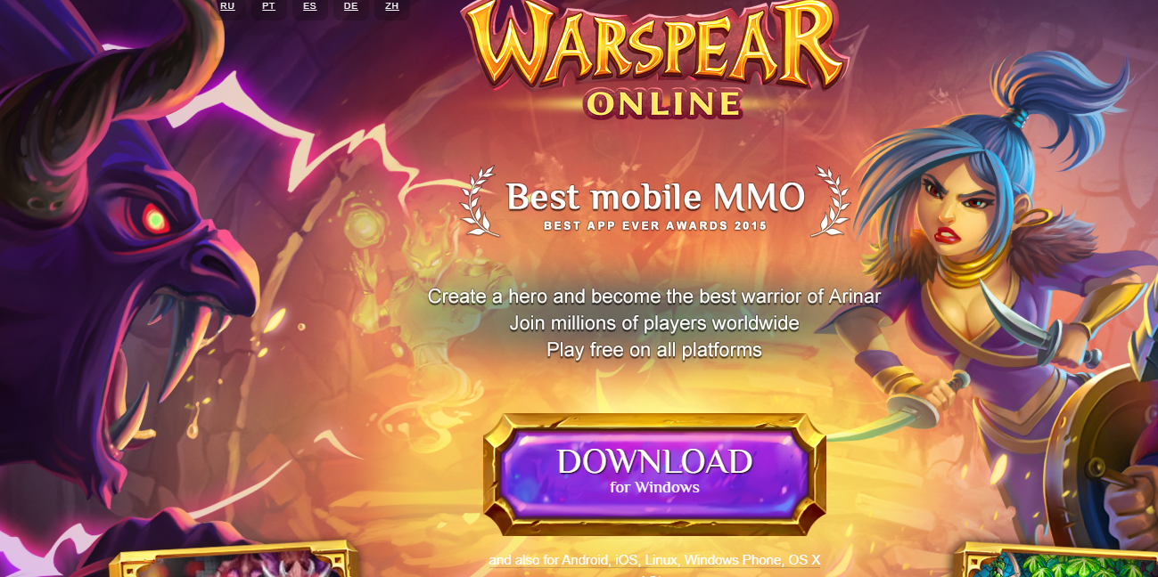 Review Game Cross Platform Warspear Online